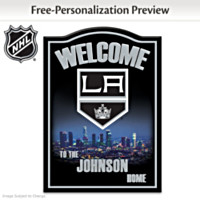 Los Angeles Kings® Personalized Wall Decor