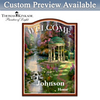 Thomas Kinkade Welcome Wall Decor