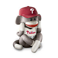 Phillies Jock Monkey Music Box