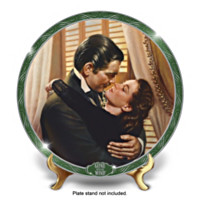 Gone With The Wind You Should Be Kissed Collector Plate