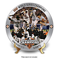 2012 World Series San Francisco Giants Collector Plate