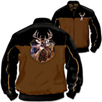 Wild And Rugged Reversible Men's Jacket