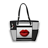 Pucker Up Tote Bag