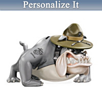 USMC Devil Dog Personalized Bank