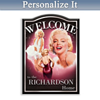 Marilyn Monroe Personalized Wall Decor