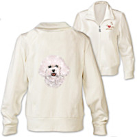Doggone Cute Bichon Women's Jacket