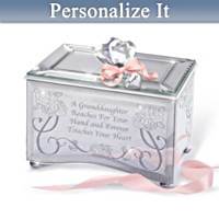 Granddaughter, Forever Touch My Heart Personalized Music Box
