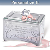 Granddaughter, You're A Dream Come True Keepsake Box