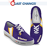 I Love The Vikings Women's Shoes