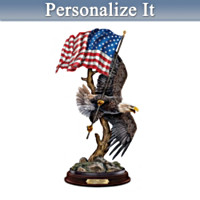 Proud To Be An American Personalized Sculpture