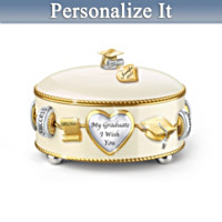 Graduate, I Wish You Personalized Music Box