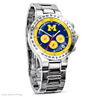 Michigan Wolverines Men's Collector's Watch
