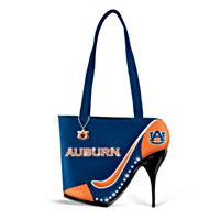 Kick Up Your Heels Auburn Tigers Handbag