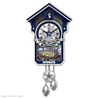 Dallas Cowboys Cuckoo Clock