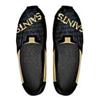 New Orleans Saints Slip On Womens Shoes