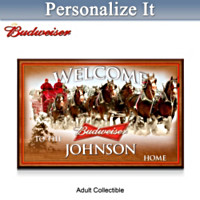 Budweiser Personalized Wall Decor