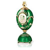 Blessings Of Ireland Faberge Inspired Musical Egg