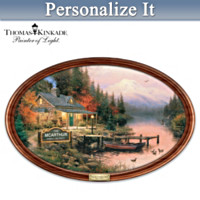 Thomas Kinkade End Of A Perfect Day Collector Plate