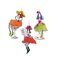 Dolly Mama's Happy Hour Ornament Set: Set Four
