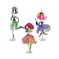 Dolly Mama's Happy Hour Ornament Set: Set Five