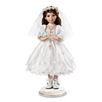 Her First Holy Communion Doll: Brunette