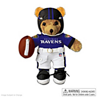 Baltimore Ravens Coaching Teddy Bear