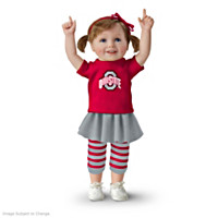Buckeye Girls Have More Fun! Child Doll