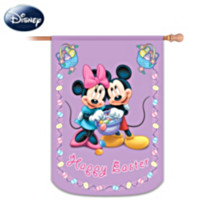 Mickey & Friends Happy Easter Flag
