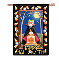 Mary Engelbreit Happy Halloween Flag