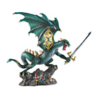 Crusader Of Hell's Wrath Figurine