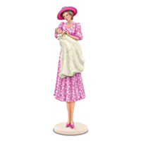 Figurine: The Royal Christening Of Prince William Figurine