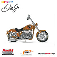 Dale Earnhardt Jr. Whiskey River Motorcycle Figurine