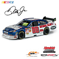 Dale Earnhardt Jr. National Guard Autographed Diecast