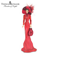 Thomas Kinkade Red And Proud Figurine