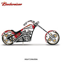 Budweiser Chopper Figurine