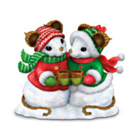 Charming Tails Snowbody Warms My Heart Like You Figurine
