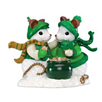 I'm Snow Lucky To Have You! Figurine