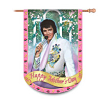 Elvis Happy Mother's Day Flag