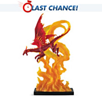 Fire Moon Figurine