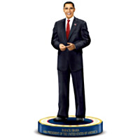 President Barack Obama Commemorative Figurine