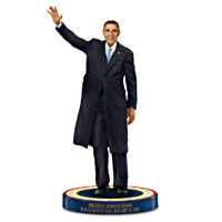 President Barack Obama, 2013 Inauguration Day Figurine