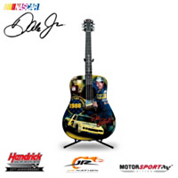 Dale Earnhardt 1986 Classic Finish Guitar Sculpture