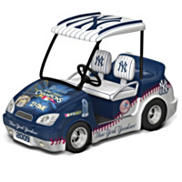 2009 World Series Champions Golf Cart Figurine