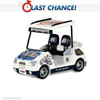 Yankee Stadium Golf Cart Figurine