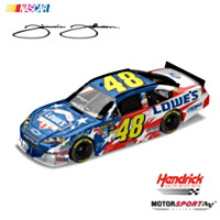 Jimmie Johnson No. 48 Lowe's 2010 Sprint Cup Diecast Car