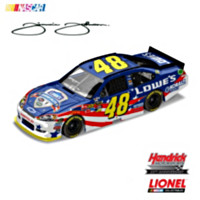Jimmie Johnson No. 48 Lowe's Summer Salute Diecast Car