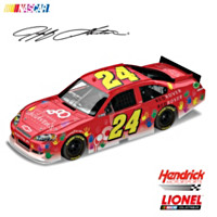 Jeff Gordon Children's Foundation No. 24 2011 Diecast Car