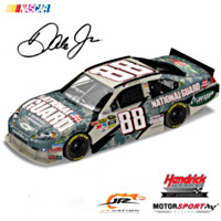 Dale Earnhardt Jr. 8 Soldiers/8 Missions 2010 Diecast Car