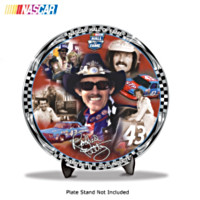 Richard Petty Nascar Hall of Fame Plate