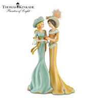 Thomas Kinkade My Granddaughter, My Gift From Above Figurine